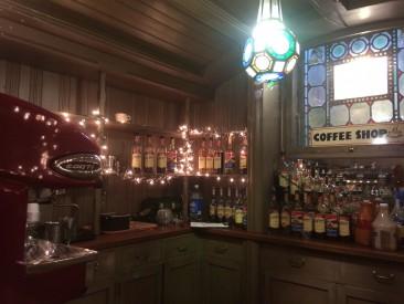 Speakeasy espresso bar