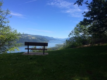 Bench with eastern view